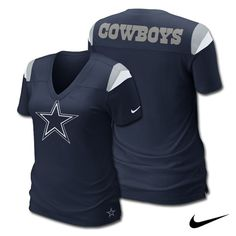 Dallas #Cowboys Nike Women's Fashion V-Neck Top. - $39.99