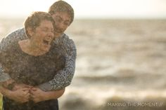 Intimate Fun Lakeside Cleveland Engagement Session // Making the Moment Photography