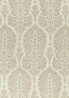 SIR THOMAS EMBROIDERY, Grey, W772570, Collection Chestnut Hill from Thibaut