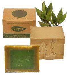 Jabón antiacné de Alepo: oliva y laurel   El Herbolario