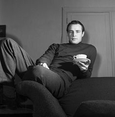 Marlon Brando coffee break
