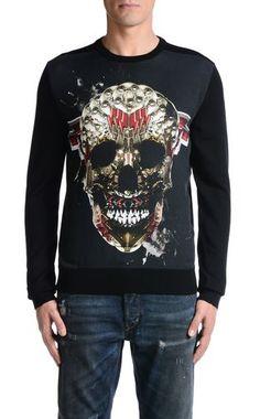 Crewneck sweater Men - Sweaters Men on Just Cavalli Online Store