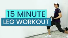 15 Minute Leg, Butt, Thigh Workout at Home • No Equipment (w/ Modifications) • Keoni Tamayo - YouTube Thigh Workouts At Home, Body Workouts, Gym Routine, Workout Routines, Workout Dvds, Thigh Exercises, Kettlebell, Get In Shape, Body Weight