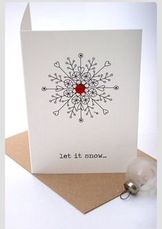9 More Easy Homemade Christmas Cards with Step by Step Instructions – DIY Theory Create Christmas Cards, Boxed Christmas Cards, Christmas Card Crafts, Homemade Christmas Cards, Printable Christmas Cards, Christmas Drawing, Xmas Cards, Homemade Cards, Handmade Christmas