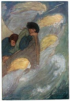 Sleep at Sea - The Poems of Christina Rossetti, 1910