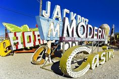 Lettering Time: The Neon Museum Las Vegas