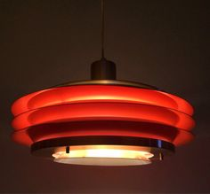 Granhaga midcentury brass ceiling lamp  by deerstedt. Explore more products on http://deerstedt.etsy.com