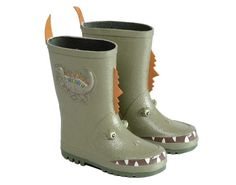 Kidorable dinasaur - just gave these to my son with raincoat! Soooo cute!