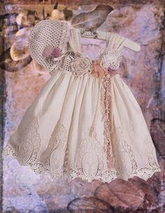 Βαπτιστικά ρούχα για κορίτσι-080