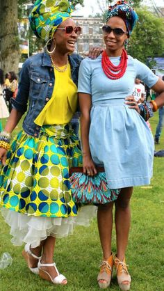 African Fashion - Love this tulip-style dress! African Inspired Fashion, African Print Fashion, Africa Fashion, Ethnic Fashion, Fashion Prints, Love Fashion, Womens Fashion, African Prints, Ankara Fashion