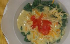 HOMEMADE SPINACH GNOCCHIS WITH CHEESE SAUCE AND FRESH CUBED TOMATOS at the HOUSE in B.A.
