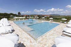 La nostra piscina all'aperto