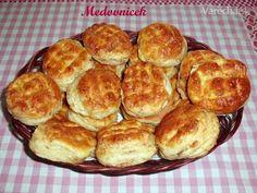 Zemiakovo-oškvarkové pagáče (fotorecept) - Recept