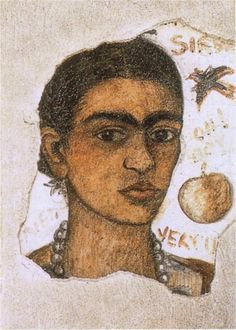 Frida Kahlo (Mexican, 1907 - 1954), 'Self Portrait (Very Ugly)', 1933
