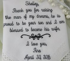 FREE Gift Box Included Mother of The Groom by elegantmonogramming