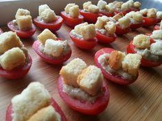 Tomaatjes met bagna cauda