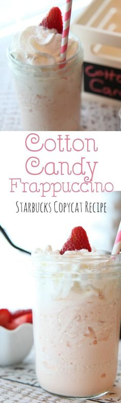Starbucks Copycat Cotton Candy Frappuccino