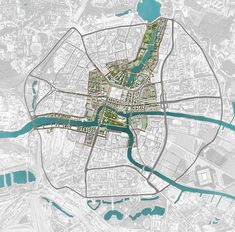 2nd Place at the International Urban Design Competition of Kaliningrad Heart of City. Off-The-Grid / Devillers / Wall / 2pm Architecture