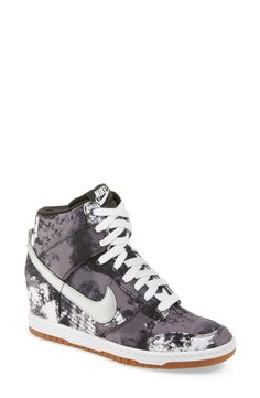 new york 2b5ea d798e Nike  Dunk Sky Hi  Wedge Sneaker (Women)   Nordstrom Sneaker Heels,