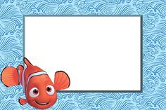 Imágenes y fondos de Nemo, Papá y Doris | Imágenes para Peques Baby Shower Invitations, Birthday Invitations, 3rd Birthday, Birthday Parties, Nemo Cake, Oh My Fiesta, Disney Scrapbook, Name Cards, Under The Sea