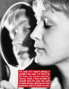 Barbara Kruger Special Artist's Project for Dazed, June 1996. Copyright Barbara Kruger, Courtesy of Mary Boone Gallery, New York.