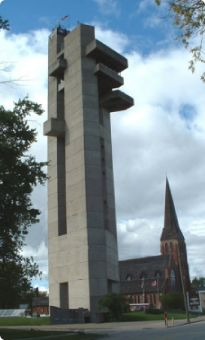 The Tower of History Sault Ste Marie Michigan