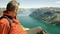 Восхождение на вершину скалы Прекестулен, Норвегия - Фото: sherifftv.no