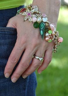 Sewing pattern designer, author and fabric + felt artist. I believe that making beautiful things will bring you joy! This is my Blog - Betz White.  #VintageJewelry