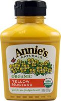 Annie's Naturals Organic Yellow Mustard. Edged out major brands for best tasting yellow mustard and it's low sodium.