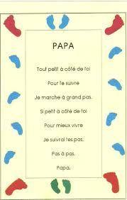 """Résultat de recherche d'images pour """"poésie papa maternelle"""""""