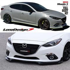 Mazda 3 Bm Axela Tuning Body Kit Lenzdesign Performance 2017 2016 2018