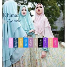 Jilbab Khimar Syar'i Aqeela  http://bundaku.net/pakaian-wanita/jilbab/jilbab-khimar-syari-aqeela