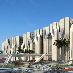 STONE TOWERS, CAIRO BY ZAHA HADID ARCHITECTS