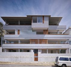 My favourite building in Bondi, Francis St. By Candalepas Associates.