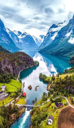 These beautiful places to travel around the world will amaze you to travel once in your life. These places are perfect for a life-changing experience. Have a look & go explore them. Beautiful Places To Travel, Cool Places To Visit, Places To Go, Wonderful Places, Places In Switzerland, Norway Fjords, Norway Travel, Photos Voyages, Dream Vacations