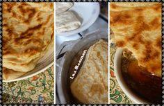 Les msemen: crêpes feuilletées marocaines au thermomix.