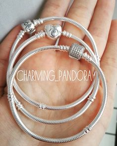 Pandora bracelets Amelia wants the one at the back; Maisy the love heart one xx