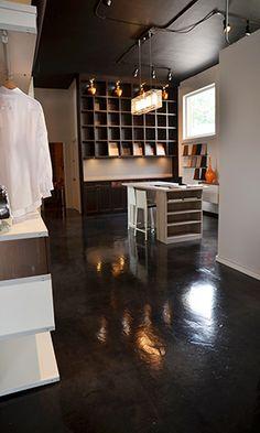 dark stained concrete floors. Beautiful dark  rich stained concrete floors Paradigm Concrete Design Louisville Ky Dark Stained Floor 32 New Construction Carpet vinyl