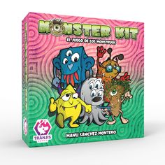 Tranjis Games - Monster Kit - Juego de cartas (TRG-09kit): Amazon.es: Juguetes y juegos Kit, Board Games, Cover, Delaware, Products, 4 Years, Board Games For Kids, Card Games, Monster Games