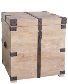 Mayfair Trunk Side Table – Allissias Attic & Vintage French Style