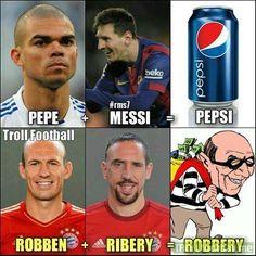 PEPSI Kc Football, Football Troll, Football Jokes, Best Football Players, Soccer Players, Funny Basketball Memes, Soccer Jokes, Funny Sports Memes, Sports Humor