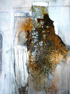 Ute Hoeg Abstract Watercolor, Abstract Landscape, Abstract Art, Art Grunge, Abstract Styles, Wall Art Designs, Oeuvre D'art, Mixed Media Art, Painting Inspiration