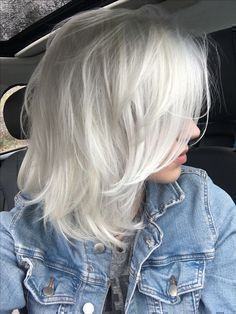 Are you looking for ombre hair color for grey silver? See our collection full of ombre hair color for grey silver and get inspired! #hair #haircolor #hairideas #hairinspiration #hairstyle