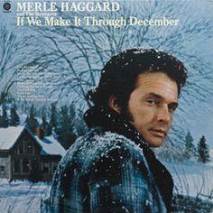 Merle Haggard and The Strangers If We Make It Through December - vinyl LP
