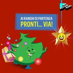 Sotto Natale c'è solo uno sport al quale nessuno può sottrarsi: la corsa ai regali! 🎁🏃
