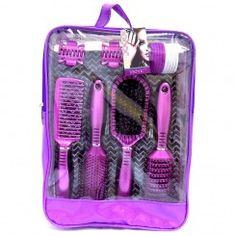 Technic Brushes On The Go Hair Set Hair Setting, Brushes, Hair Beauty, Blush, Paint Brushes, Cute Hair, Makeup Brush
