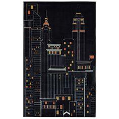 Mohawk® Home New York City Rug - 5' x 8', Black