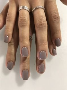 gelmani gelcolor gelnails gelpolish polishe Taupeless beach by Taupeless beach by opi Cute Nails, Pretty Nails, Hair And Nails, My Nails, Glam Nails, Gel Nails At Home, Manicure Y Pedicure, Fall Manicure, Pedicures