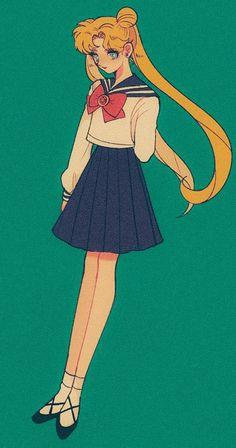 Sailor Moons, Sailor Moon Usagi, Sailor Saturn, Sailor Moon Art, Sailor Venus, Manga Anime, Old Anime, Manga Art, Cristal Sailor Moon
