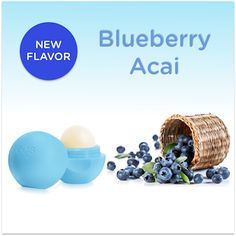 have to try this new EOS lip balm flavor #blueberry